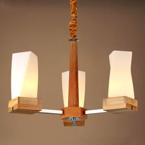 シャンデリア 北欧照明 天井照明 照明器具 田舎風 3灯
