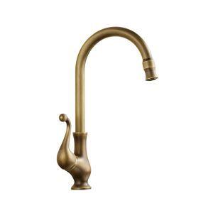 洗面蛇口 バス水栓 浴室蛇口 冷熱混合水栓 水道金具 真鍮製 ブロンズ色 FTTB057