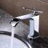 洗面蛇口 バス水栓 浴室蛇口 冷熱混合水栓 水道金具 クロム H20cm FTTB006