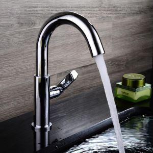 洗面蛇口 バス水栓 浴室蛇口 単水栓 水道金具 クロム FTTB010