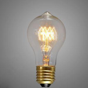 レトロなエジソン電球 ハロゲン電球 口金E26 A19 40W