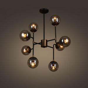ペンダントライト 工業照明 北欧照明 照明器具 ビンテージ 8灯