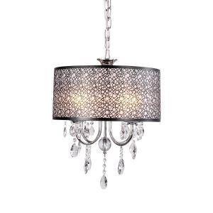 ペンダントライト 天井照明 照明器具 インテリア照明 クリスタル付 4灯