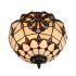 シーリングライト ティファニーライト ステンドグラス照明 玄関照明 2灯 D30cm LTFM001