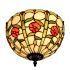 シーリングライト ティファニーライト ステンドグラス照明 玄関照明 D30cm LTFM047