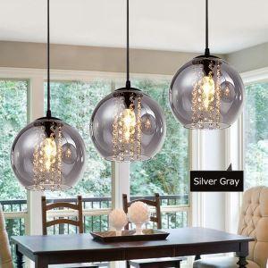 ペンダントライト 照明器具 食卓照明 天井照明 オシャレ照明 ガラスシェード 3灯