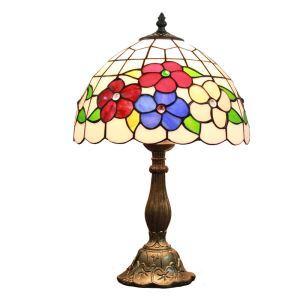 テーブルランプ ティファニーライト ステンドグラスランプ 卓上照明 1灯 D30cm LTTL173