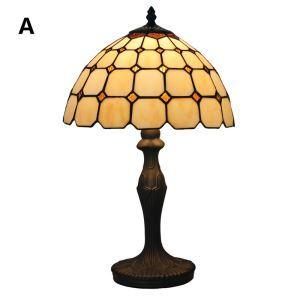 テーブルランプ ティファニーライト ステンドグラスランプ 卓上照明 1灯 D30cm LTPL122