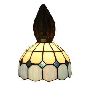 ティファニーライト 壁掛け照明 ステンドグラスランプ 玄関照明 ブラケット 1灯 8in LTWL057