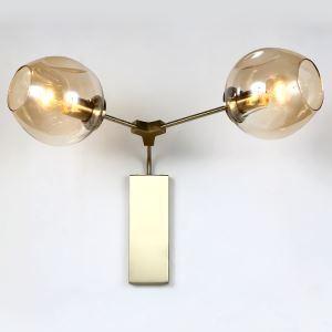 壁掛けライト ウォールランプ ブラケット 工業照明 北欧 2灯 LB32537
