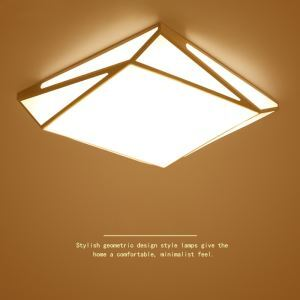 LEDシーリングライト リビング照明 照明器具 天井照明 おしゃれ照明 幾何型 LED対応