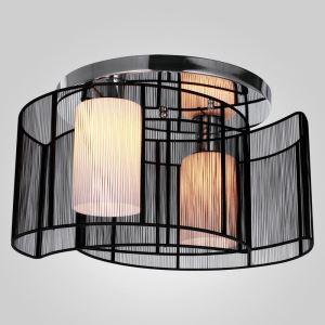 シーリングライト 玄関照明 照明器具 天井照明 月 現代的 黒色 2灯 翌日発送