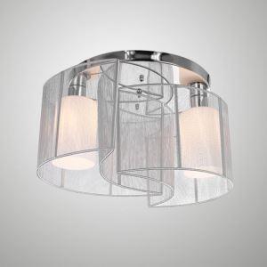 シーリングライト 玄関照明 照明器具 天井照明 月 現代的 銀色 2灯