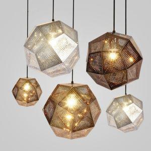ペンダントライト リビング照明 ダイニング照明 照明器具 店舗照明 北欧風 幾何型 1灯 3色