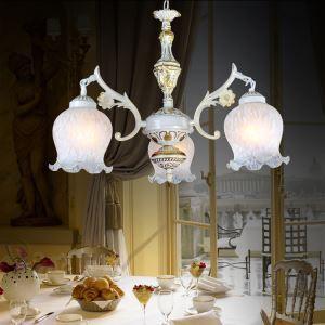 シャンデリア 北欧照明 天井照明 照明器具 レトロ 3灯