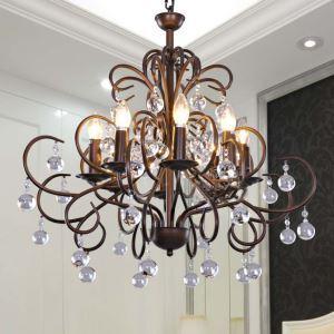 シャンデリア 天井照明 照明器具 北欧風 アンティーク調 8灯