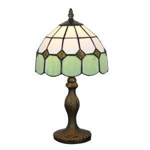 テーブルランプ ステンドグラスランプ ティファニーライト 卓上照明 寝室スタンド 1灯 8in TL267