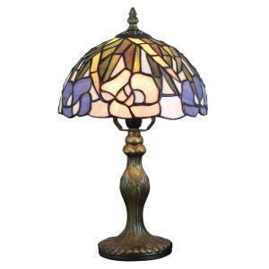 テーブルランプ ステンドグラスランプ ティファニーライト 卓上照明 寝室スタンド 1灯 8in TL333