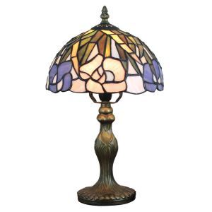 テーブルランプ ティファニーライト ステンドグラスランプ 卓上照明 スタンドライト 1灯 D20cm LTTL333