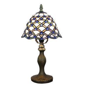 テーブルランプ ティファニーライト ステンドグラスランプ 卓上照明 スタンドライト 1灯 D20cm LTTL340