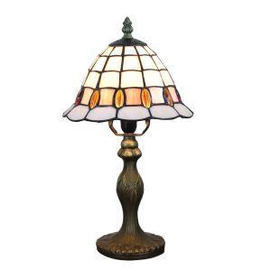 テーブルランプ ステンドグラスランプ ティファニーライト 卓上照明 寝室スタンド 1灯 8in TL344