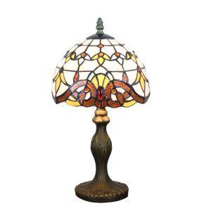 テーブルランプ ステンドグラスランプ ティファニーライト 卓上照明 寝室スタンド 1灯 8in TL345