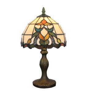 テーブルランプ ステンドグラスランプ ティファニーライト 卓上照明 寝室スタンド 1灯 8in TL348