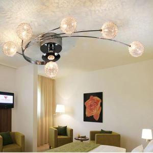 LEDシーリングライト 天井照明 インテリア照明 リビング照明 G4-6灯 LED対応