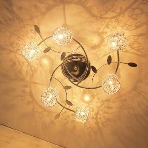 LEDシーリングライト 照明器具 リビング照明 寝室照明 オシャレ 店舗照明 6灯 LED対応