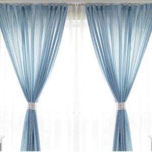 遮光カーテン オーダーカーテン 捺染 抽象柄 北欧風 3級遮光カーテン 01(1枚)