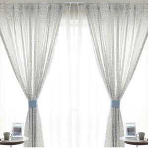 遮光カーテン オーダーカーテン 捺染 抽象柄 北欧風 3級遮光カーテン 02(1枚)