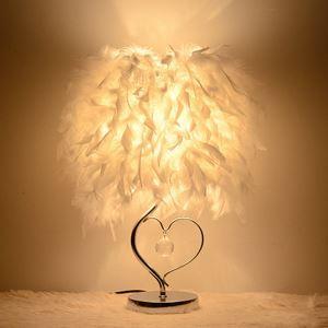 テーブルランプ 卓上照明 テーブルライト クロムスタンド 羽毛シェード 北欧風 1灯 LTMS61361