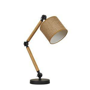 テーブルランプ 卓上照明 テーブルライト 折り畳み式スタンド 布製シェード 北欧風 1灯 LTMS61366