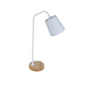 テーブルランプ 卓上照明 テーブルライト 木製スタンド 布製シェード 北欧風 1灯 A&B LTMS61376
