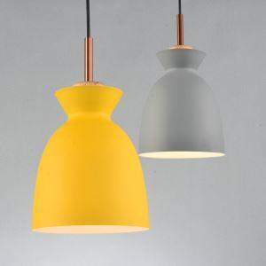 ペンダントライト 天井照明 北欧風照明 照明器具 玄関照明 1灯 黄色/灰色 LT1067