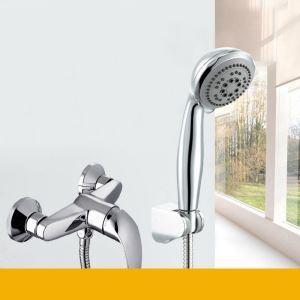 シャワー水栓 バス蛇口 ハンドシャワー 水栓金具 混合水栓 風呂用 クロム(S02015-3576-061)