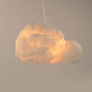 ペンダントライト 天井照明 子供屋照明 玄関照明 白雲 2灯