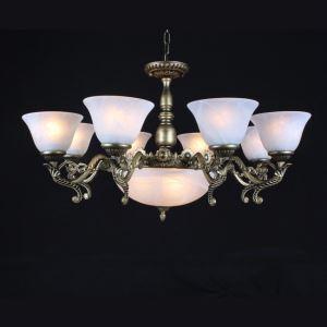 シャンデリア 照明器具 リビング照明 アンティーク調 11灯