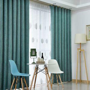 遮光カーテン オーダーカーテン ジャガード 北欧風 豪華 4色 1級遮光カーテン(1枚)