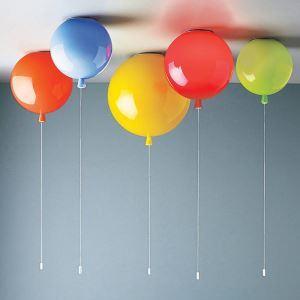 シーリングライト 子供屋照明 天井照明 照明器具 風船型 プルスイッチ 1灯