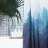 シャワーカーテン バスカーテン 防水防カビ 浴室 ダクロンカーテン 森 DP020