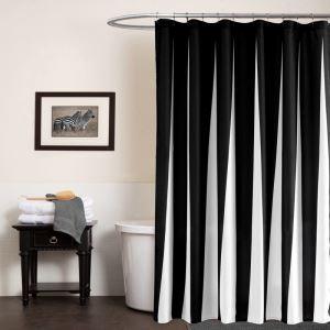 シャワーカーテン バスカーテン 防水防カビ 浴室 プリントカーテン シンプル 1枚 両サイズ WC044