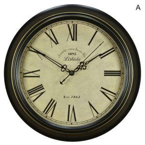時計 壁掛け時計 静音時計 北欧 アンティーク