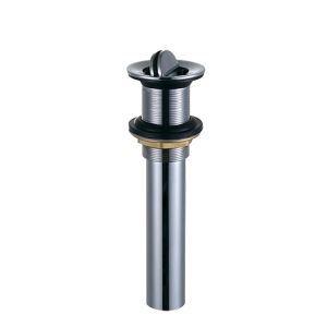 横穴無し排水金具 排水ドレイン ボウル用排水口金具 ドレンユニット32mm クロム 0918XS001