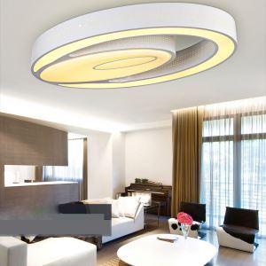 LEDシーリングライト 照明器具 リビング照明 天井照明 アクリル おしゃれ照明 楕円形 LED対応 FM034