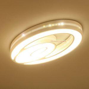 LEDシーリングライト 照明器具 天井照明 リビング用 寝室用 オシャレ楕円形 LED対応 FM034