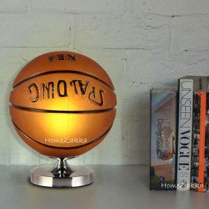 テーブルランプ 卓上照明 テーブルライト スタンド照明 間接照明 バスケットボール型 1灯
