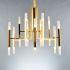 シャンデリア 天井照明 照明器具 ダイニング照明 店舗照明 北欧風 24灯