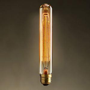 レトロなエジソン電球 T30 ハロゲン電球 18.5cm 40W 口金E26