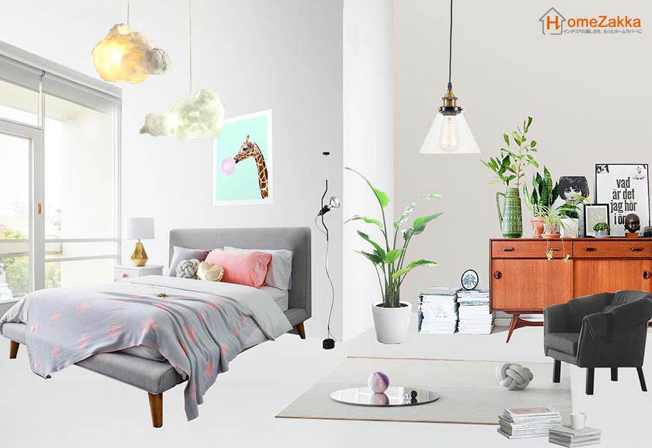 灰色のベッドルーム・インスピレーション
